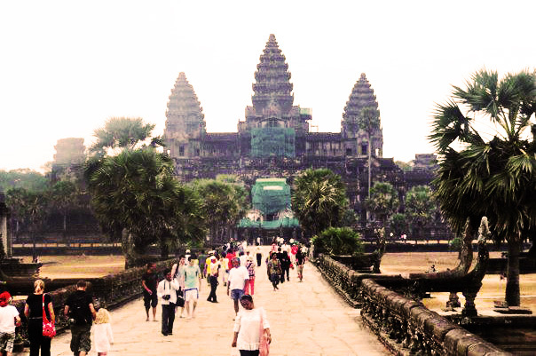 angkor wat, bucket list, wonders of the ancient world, amazing structures, things to do before you die, place to visit  - Visit Angkor Wat
