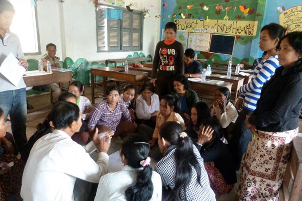 volunteering in cambodia, gap year, rural villages